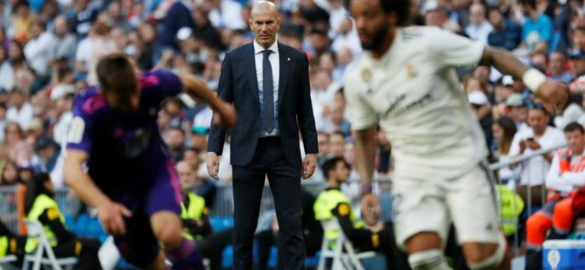 Zidane arranca con victoria 2-0 sobre el Celta de Vigo
