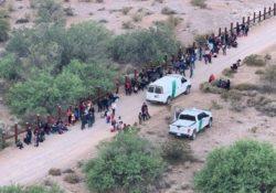 Más de 200 personas ingresan ilegalmente a EU