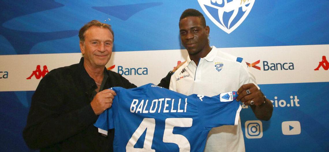 Presidente de Brescia hace comentario racista a Balotelli