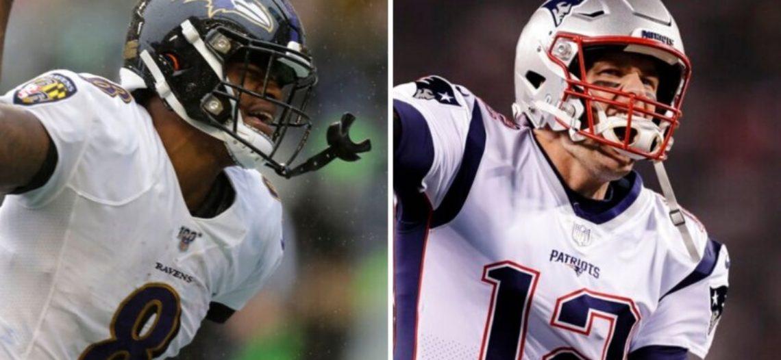 Lamar Jackson y Ravens amenazan perfección de Brady y Patriots