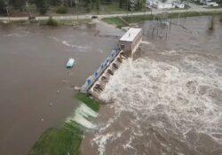 Michigan: Declaran emergencia tras el desbordamiento de dos presas