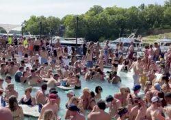 Parques y playas, abarrotados en fin de semana largo