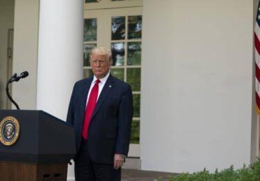 Trump quiere festejar el 4 de julio de forma tradicional pese al coronavirus