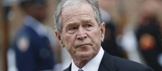 "George W. Bush critica a Trump: ""Es hora de escuchar, no de aleccionar"""