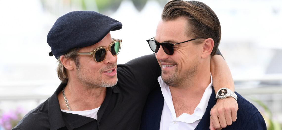 Brad Pitt y Leonardo DiCaprio comparten afición