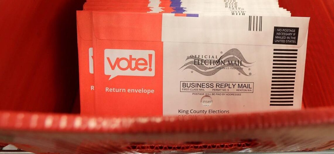 Votar por correo es seguro
