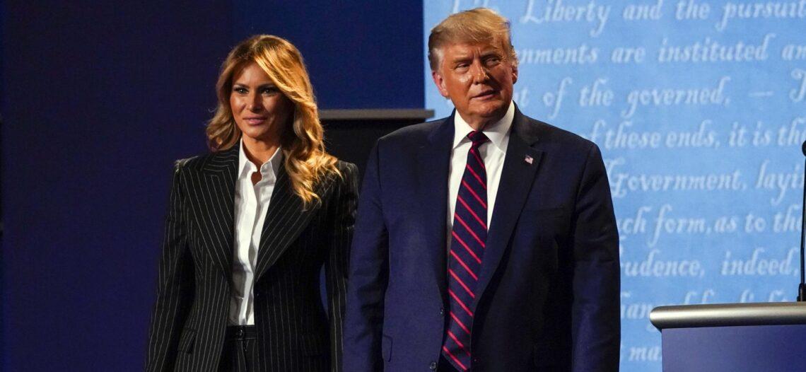 Trump y Melania dan positivo a COVID-19