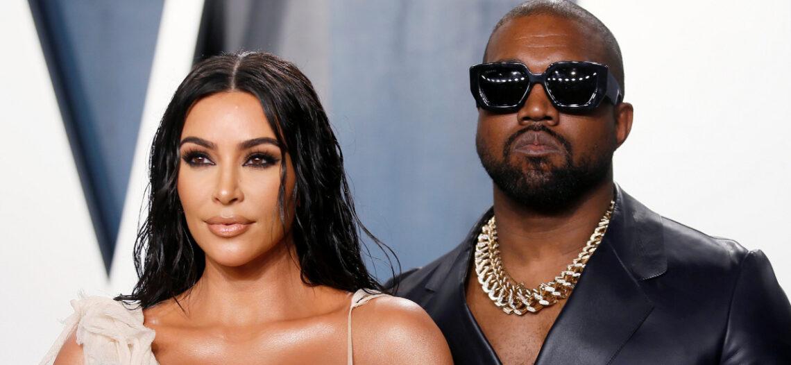 Kim Kardashian enfrenta divorcio concentrándose en sus estudios