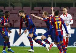 Barcelona vence al Sevilla en prórroga y está en la final de Copa del Rey