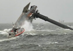 Rescatan a varias personas tras naufragio cerca de Luisiana