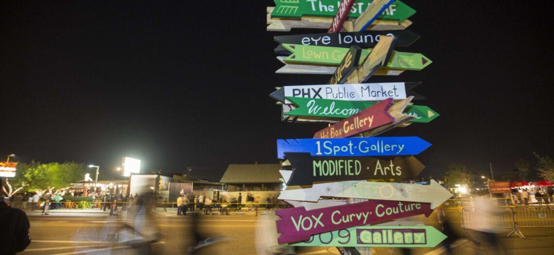 Roosevelt Row, la vena creativa de Arizona