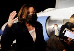Harris llega a México en su gira para disminuir migración