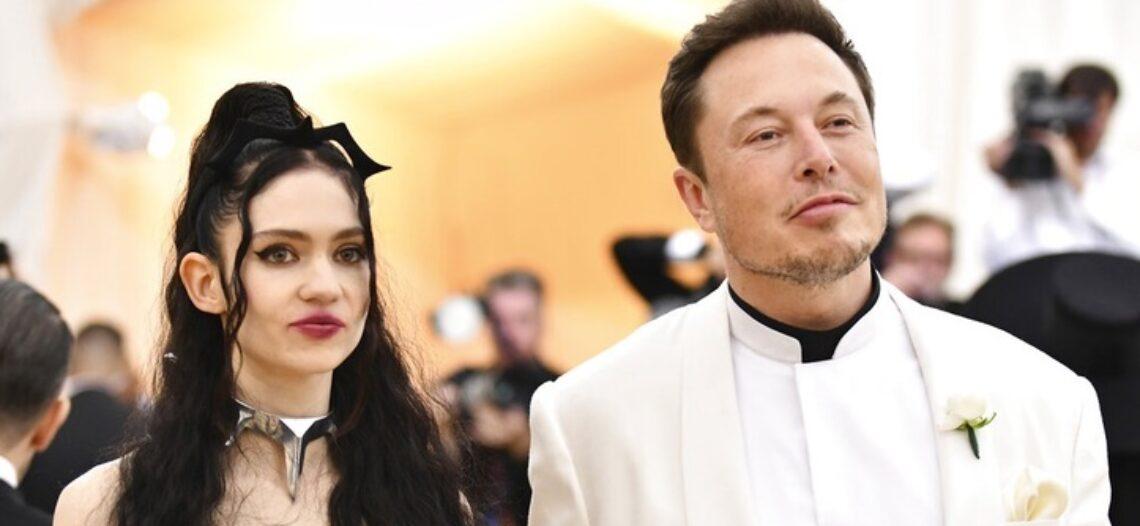 Elon Musk termina relación con la cantante Grimes