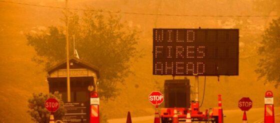 Incendio amenaza Parque Nacional de Secuoyas en California