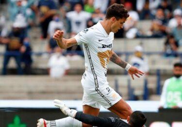 Gana Pumas por primera vez en casi dos meses con gol de último minuto